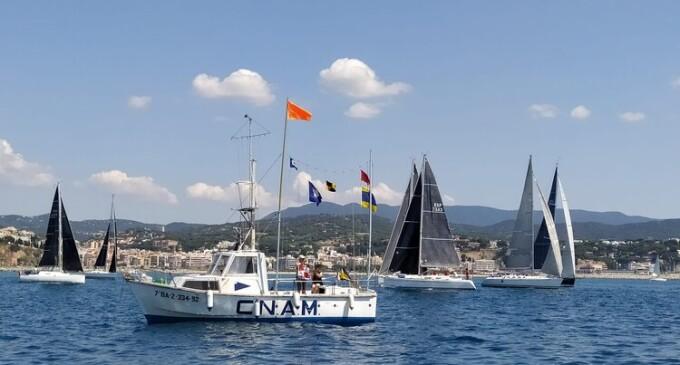 El CN Arenys de Mar organitza la I Regata de la Sardina amb una bona participació