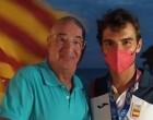 El Club Nàutic Garraf rep al seu regatista olímpic, Jordi Xammar