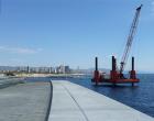 La transformació del Port Olímpic avança amb la millora funcional del Dic de Recer