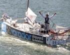 Carlos Manera, del Club Nàutic Port de la Selva, en la Mini Transat 2021